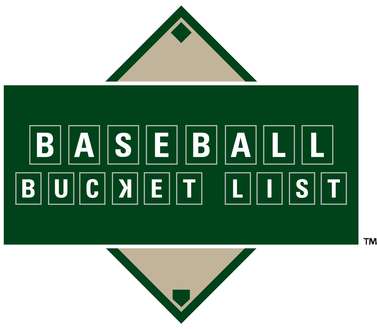 Baseball Bucket List Logo
